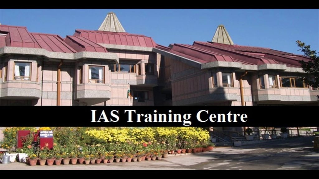 ias coaching which takes place at Lal Bahadur Shastri National Academy of Administration