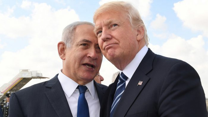 Israel Prime Minister Netanyahu Secretly Talking To The American President Donald Trump.