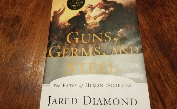 Guns, Germs & Steel - A Book By Jared Diamond.