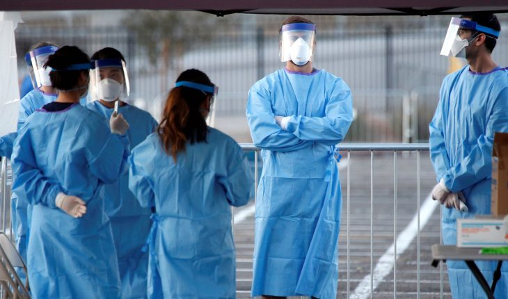 Doctors In Full Protective Suit - Preventing From The Deadly COVID-19.