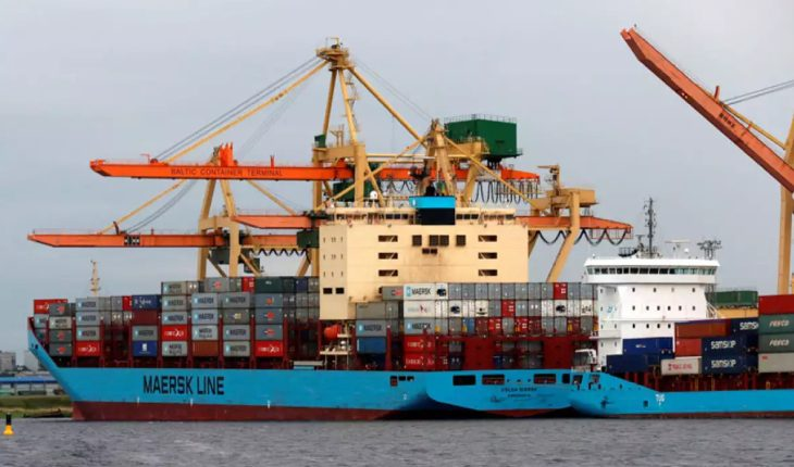 Indian Container Ship In Export & Import Business ANd Logistics.