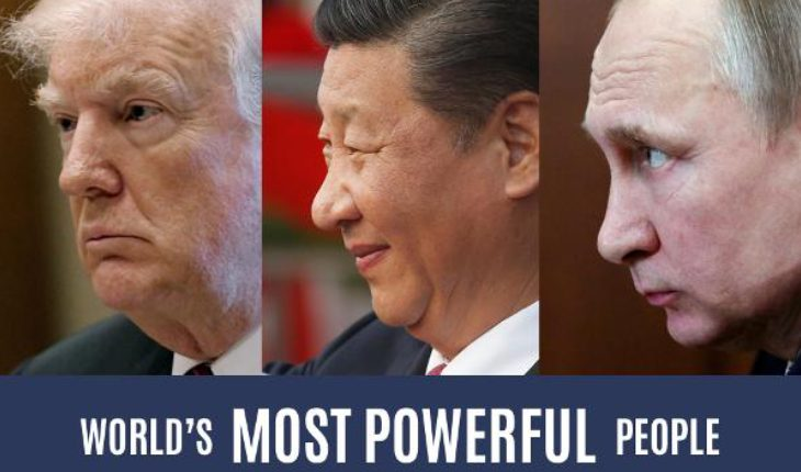 Donald Trump, Xi Jinping & Vladimir Putin In One Picture.