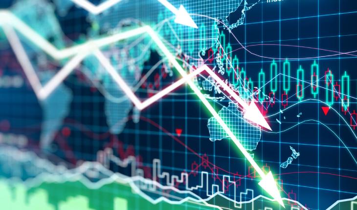Digital Representation Of Economy Market.