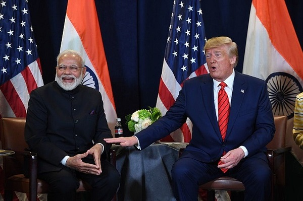 An Image Representing The US-India Relationship.
